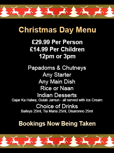 Christmas Booking